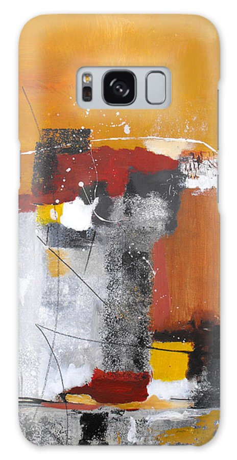 Abstract Galaxy Case featuring the painting Special Circumstances by Ruth Palmer