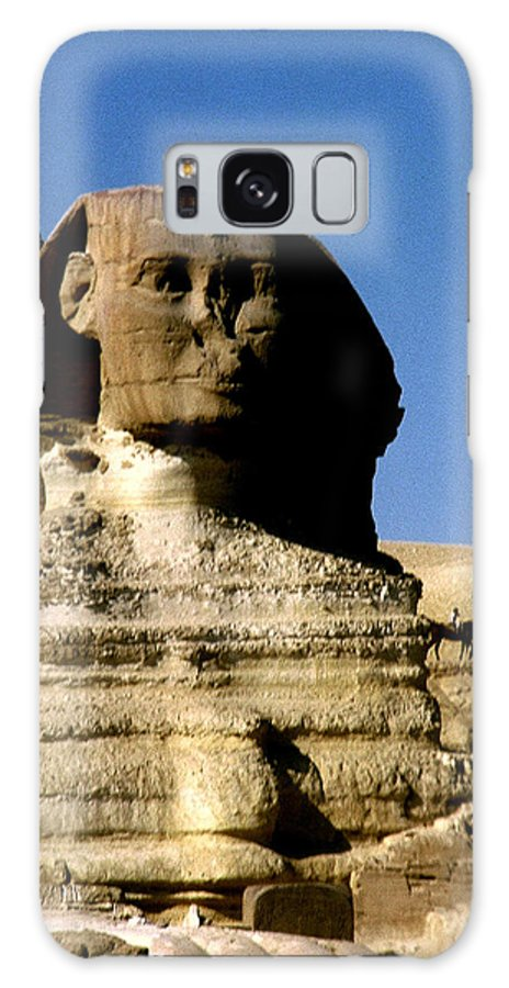 Sphinx Galaxy S8 Case featuring the photograph Sphinx by Gary Wonning