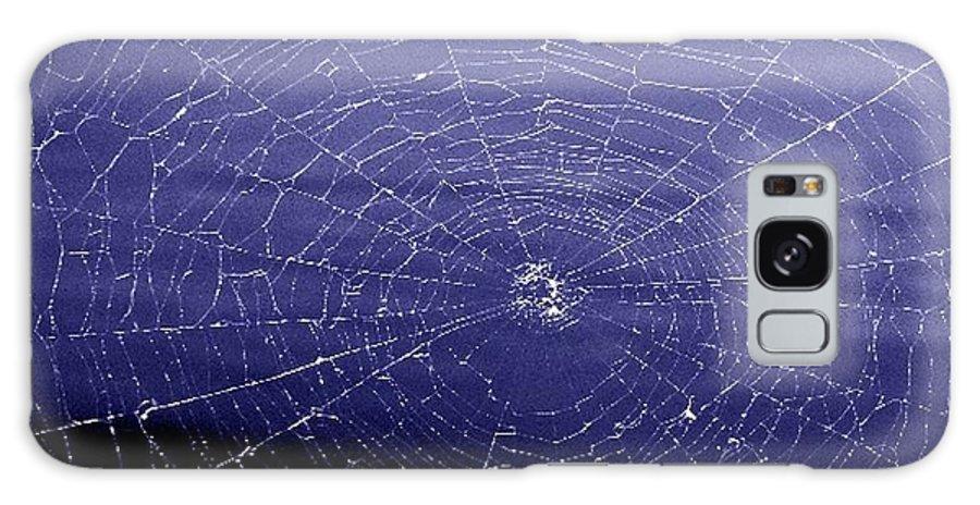 Web Galaxy Case featuring the digital art Spiderweb by Kenna Westerman