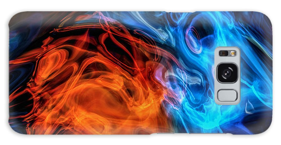 Abstract Galaxy S8 Case featuring the photograph Spirits by John M Bailey
