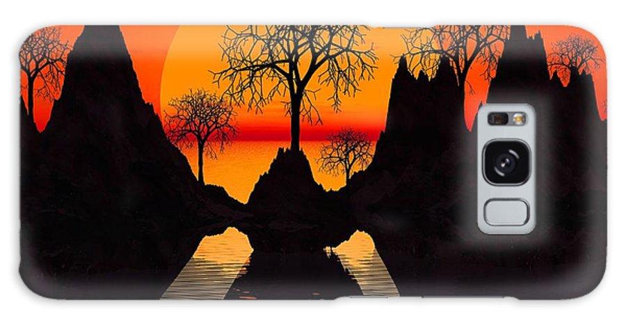 Trees Galaxy S8 Case featuring the digital art Splintered Sunlight by Robert Orinski