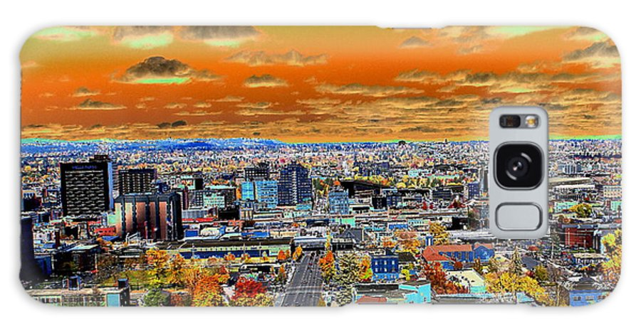 Photo Art Galaxy S8 Case featuring the photograph Spokane Washington Earth by Ben Upham III