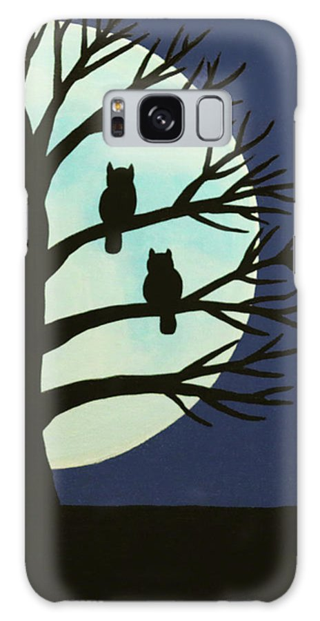 Spooky Owl Tree Galaxy S8 Case