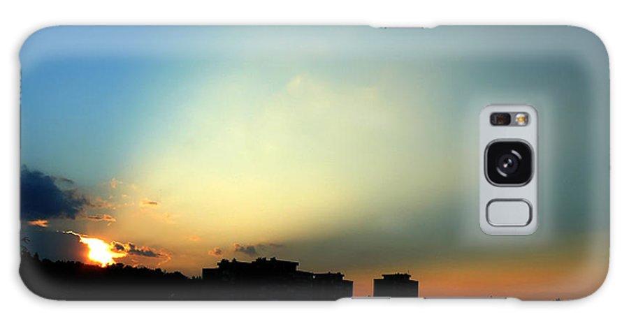 Nature Galaxy Case featuring the photograph Spotlight by Daniel Csoka