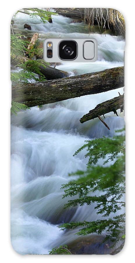 Glacier National Park Galaxy S8 Case featuring the photograph Sprague Creek Glacier National Park by Marty Koch