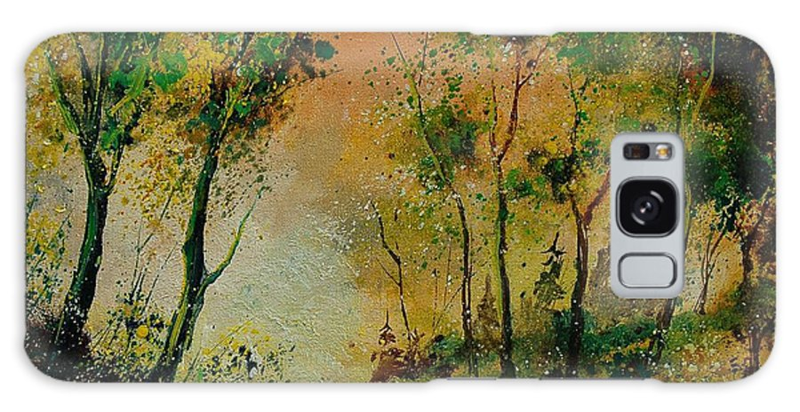 Spring Galaxy S8 Case featuring the painting Sprin In Wood 45 by Pol Ledent