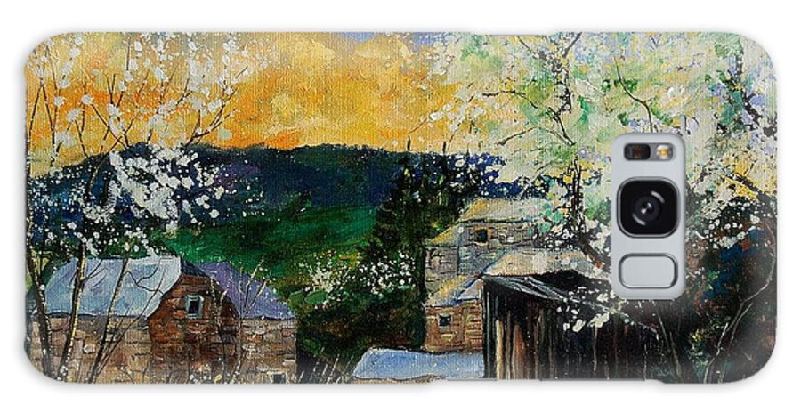 Spring Galaxy S8 Case featuring the painting Spring 45 by Pol Ledent