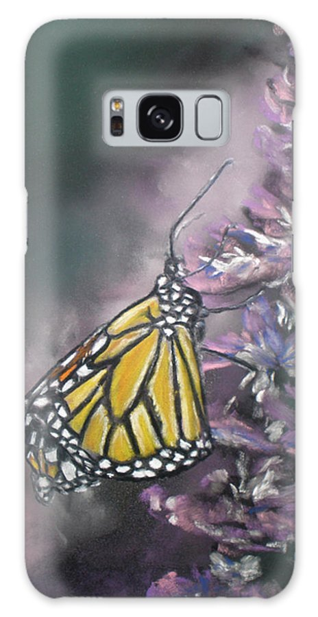 Spring Galaxy Case featuring the painting Spring by Cathy Weaver