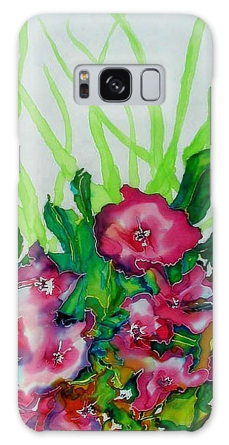 Flora Galaxy S8 Case featuring the painting Spring Celebration 1 by Ferril Nawir