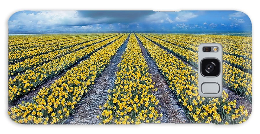 Flowers Galaxy S8 Case featuring the photograph Spring Fields by Jacky Gerritsen