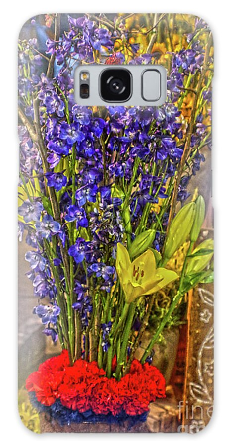 Colorful Galaxy S8 Case featuring the photograph Spring Flowers For Sale by Sandy Moulder