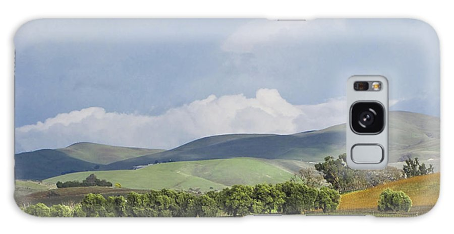 Landscape Galaxy S8 Case featuring the photograph Spring In Livermore by Karen W Meyer