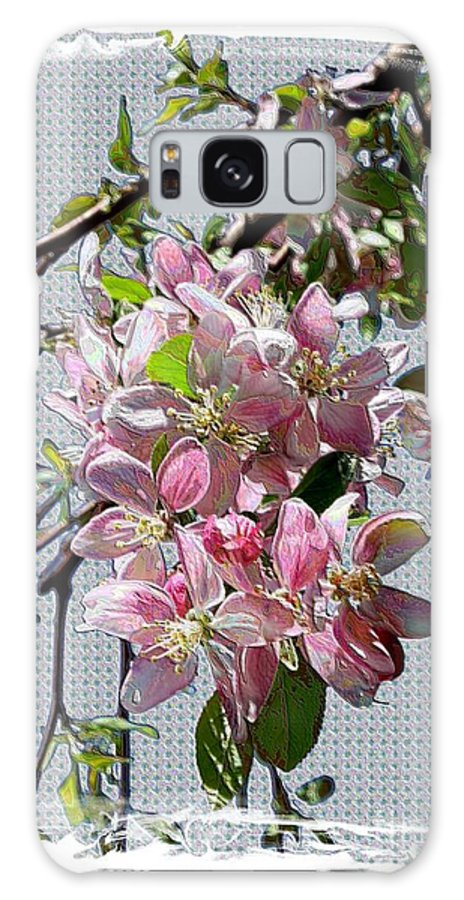Spring Blossoms Galaxy S8 Case featuring the digital art Spring Is Melting Away by Carol Groenen