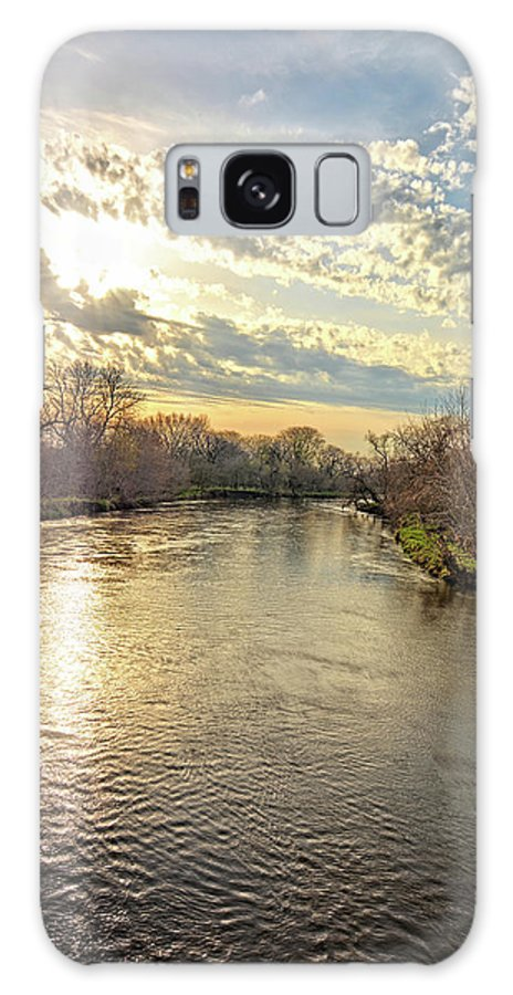 Boulders Galaxy S8 Case featuring the photograph Spring On West Fork by Bonfire Photography