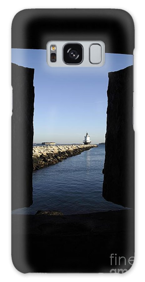 Maine Galaxy S8 Case featuring the photograph Spring Point Ledge Light - Portland Mane Usa by Erin Paul Donovan