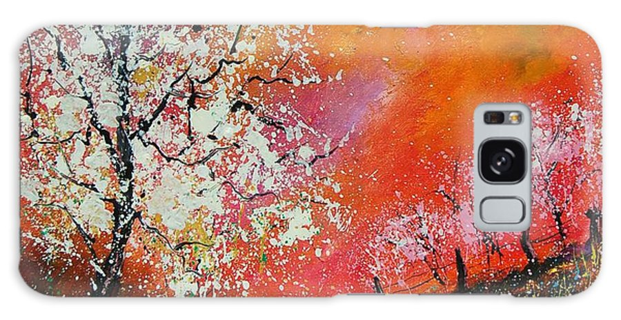 Spring Galaxy S8 Case featuring the painting Spring Today by Pol Ledent