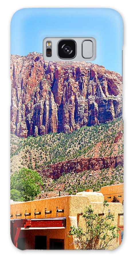 Springdale Galaxy S8 Case featuring the photograph Springdale View by Robert Meyers-Lussier