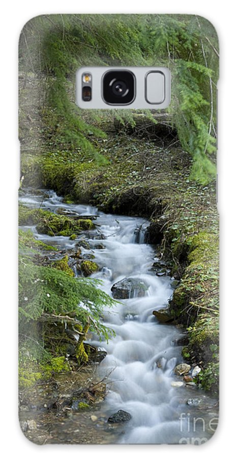 Stream Galaxy S8 Case featuring the photograph Springtime Creek by Idaho Scenic Images Linda Lantzy