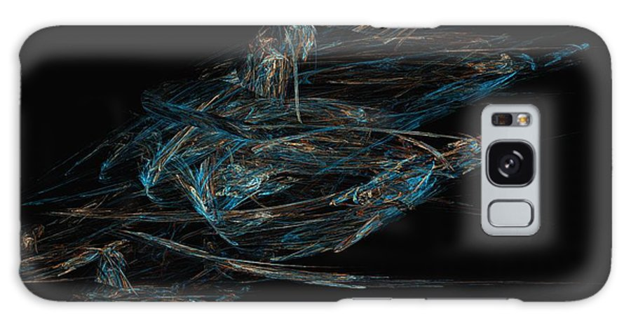 Abstract Digital Painting Galaxy S8 Case featuring the digital art Sprint by David Lane