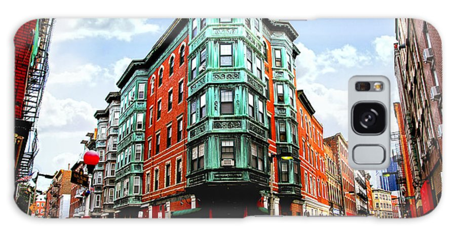 House Galaxy Case featuring the photograph Square In Old Boston by Elena Elisseeva