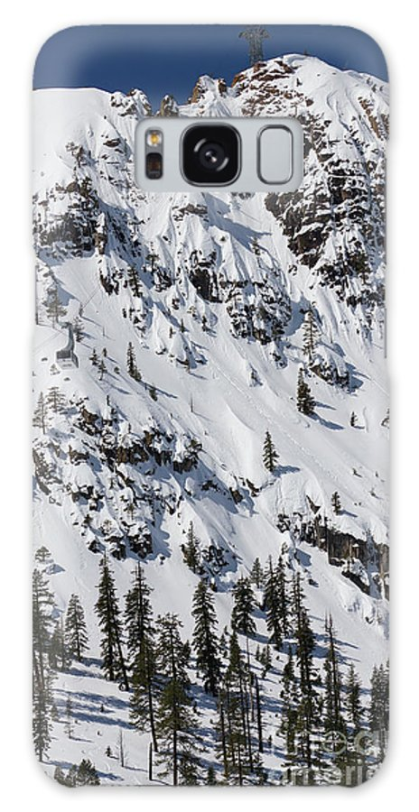 Squaw Valley Tram Galaxy S8 Case featuring the photograph Squaw Valley Tram Hill by Dustin K Ryan