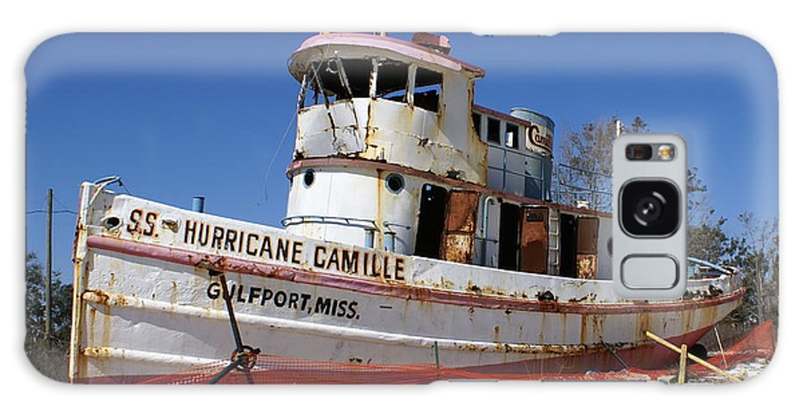 Ship Galaxy S8 Case featuring the photograph S.s. Hurricane Camille by Debbie May