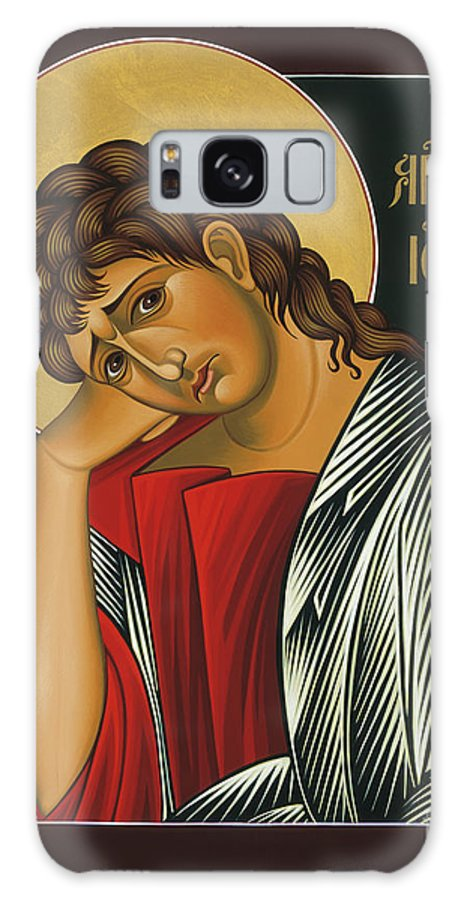 St. John The Apostle Is Part Of The Triptych Of The Passion With Jesus Christ Extreme Humility And Our Lady Of Sorrows Galaxy S8 Case featuring the painting St. John The Apostle 037 by William Hart McNichols