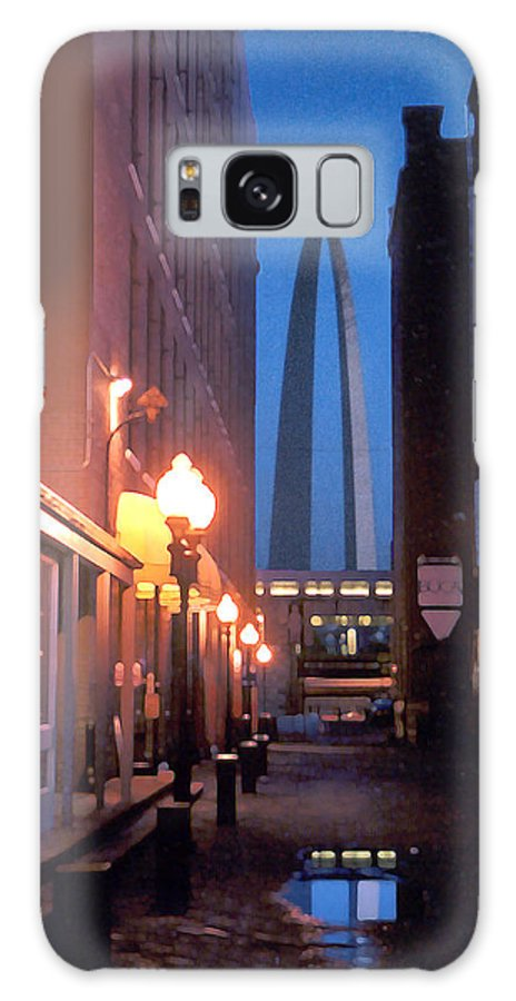 St. Louis Galaxy S8 Case featuring the photograph St. Louis Arch by Steve Karol