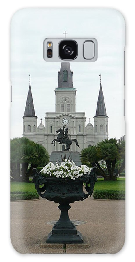 New Orleans Galaxy S8 Case featuring the photograph St. Louis Cathedral New Orleans by Kathy Schumann