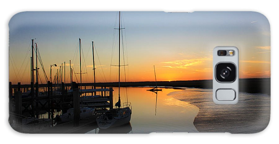 Sunset Galaxy S8 Case featuring the photograph St. Mary's Sunset by Southern Photo