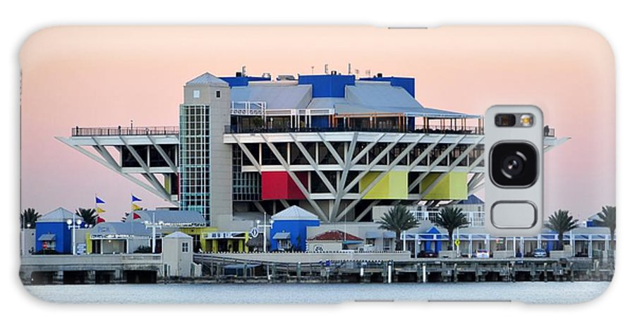 Pier Galaxy S8 Case featuring the photograph St. Petersburg Pier by David Lee Thompson