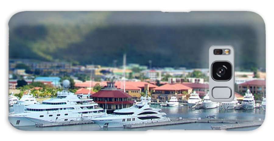 Tilt Shift Galaxy S8 Case featuring the photograph St. Thomas Us Virgin Islands by Shelley Neff