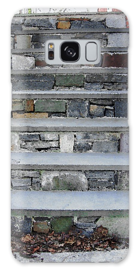 Stairs Galaxy S8 Case featuring the photograph Stairs To The Plague House by RC DeWinter