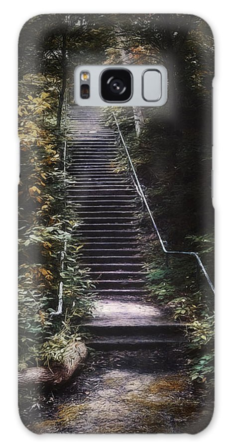 Stairs Galaxy S8 Case featuring the photograph Stairway by Scott Norris