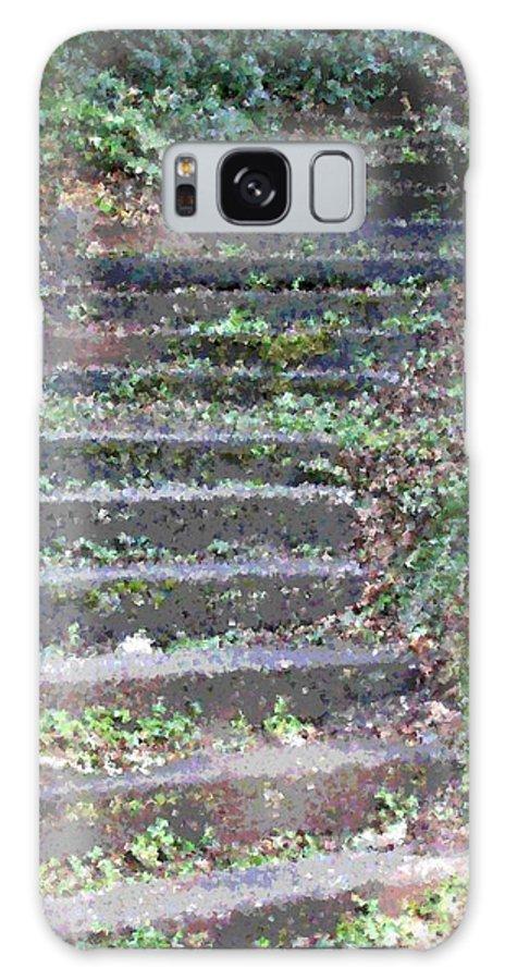 Stair Galaxy S8 Case featuring the digital art Stairway by Tim Allen