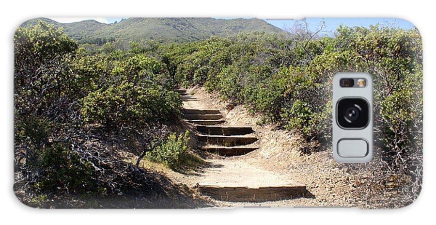 Mount Tamalpais Galaxy S8 Case featuring the photograph Stairway To Heaven On Mt Tamalpais by Ben Upham III