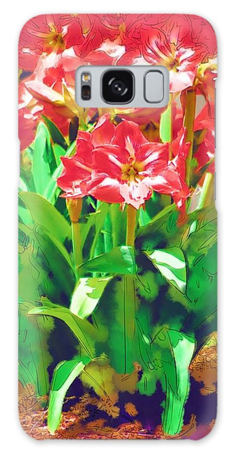 Flowers Galaxy S8 Case featuring the photograph Standing At Attention by Donna Bentley
