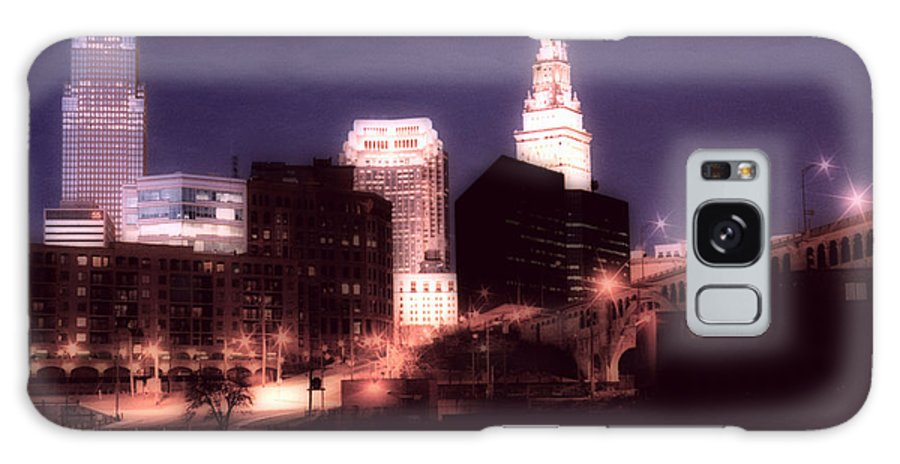 Cleveland Galaxy S8 Case featuring the photograph Standing Tall by Kenneth Krolikowski