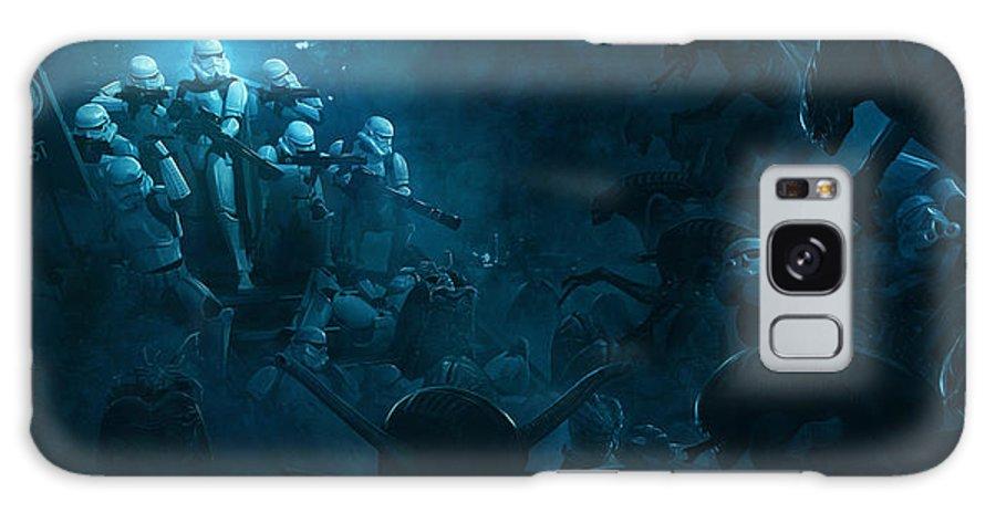 Star Wars Vs Aliens 1 Galaxy S8 Case