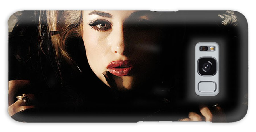 Clay Galaxy Case featuring the photograph Stare by Clayton Bruster