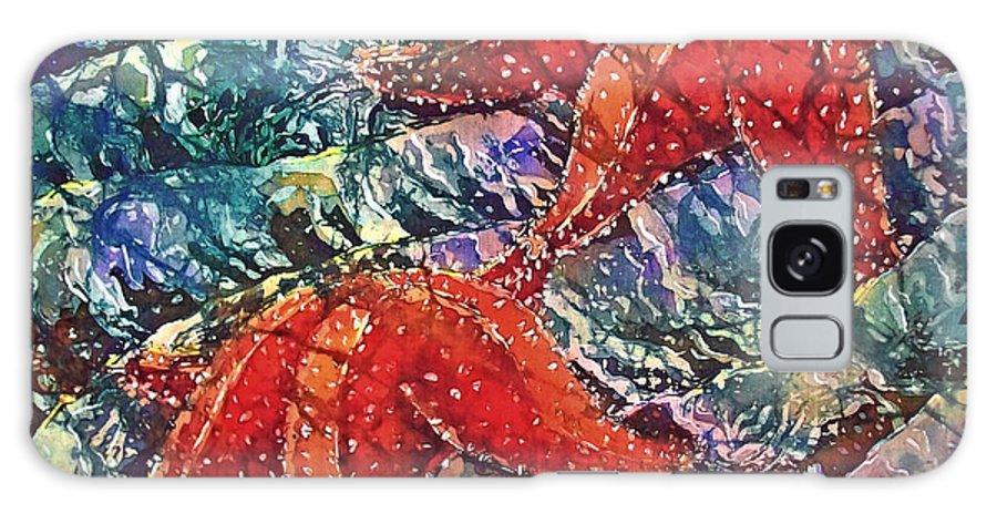 Stars Galaxy Case featuring the painting Starfish 2 by Sue Duda