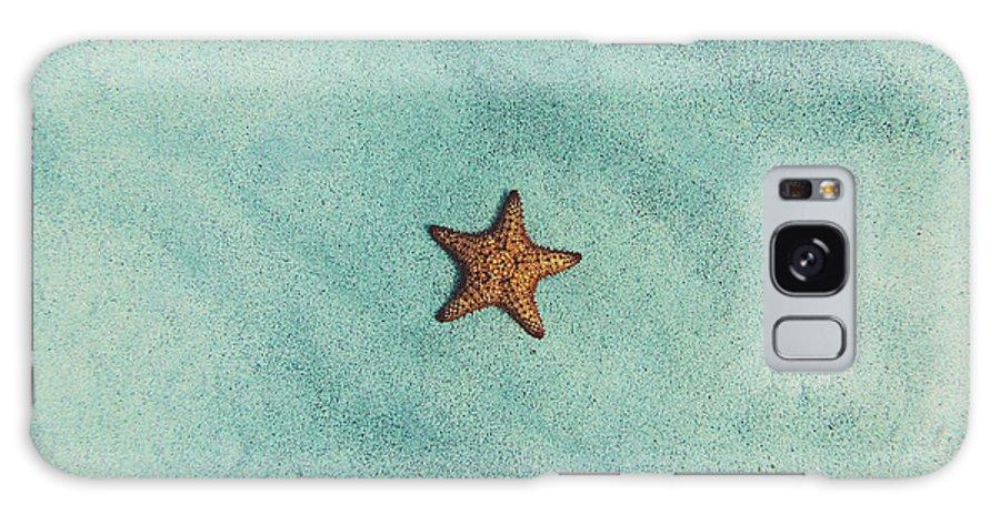 Starfish Galaxy S8 Case featuring the photograph Starfish Aquamarine by Fbmovercrafts