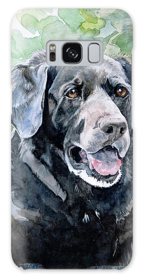 Portrait Galaxy S8 Case featuring the painting Starr by Eileen Hale