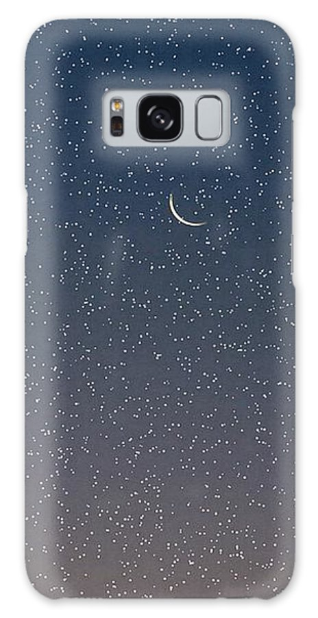 Galaxy S8 Case featuring the photograph Starry Morning Sky by Luciana Seymour