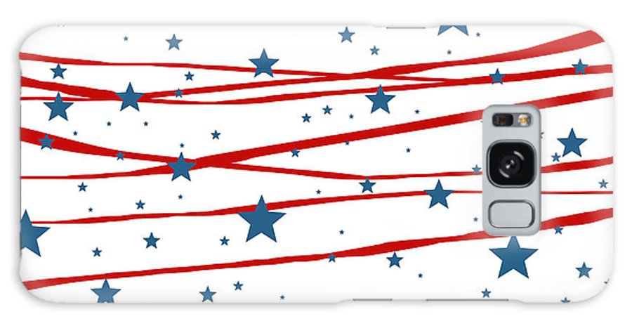 Stars And Stripes Galaxy S8 Case featuring the digital art Stars And Stripes by Marianna Mills