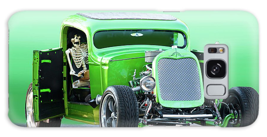 Auto Galaxy S8 Case featuring the photograph 'starv'n Marvin' Hot Rod Pickup by Dave Koontz