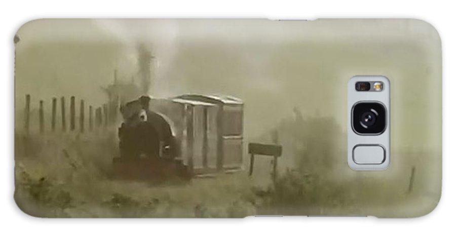 Steam Train Galaxy S8 Case featuring the photograph Steam Train In The Mist by John Dix