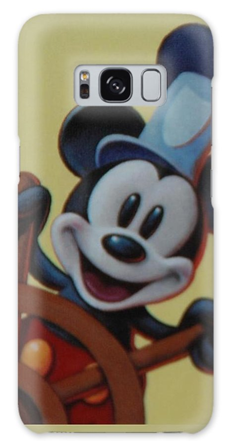 Disney Galaxy S8 Case featuring the photograph Steamboat Willy by Rob Hans