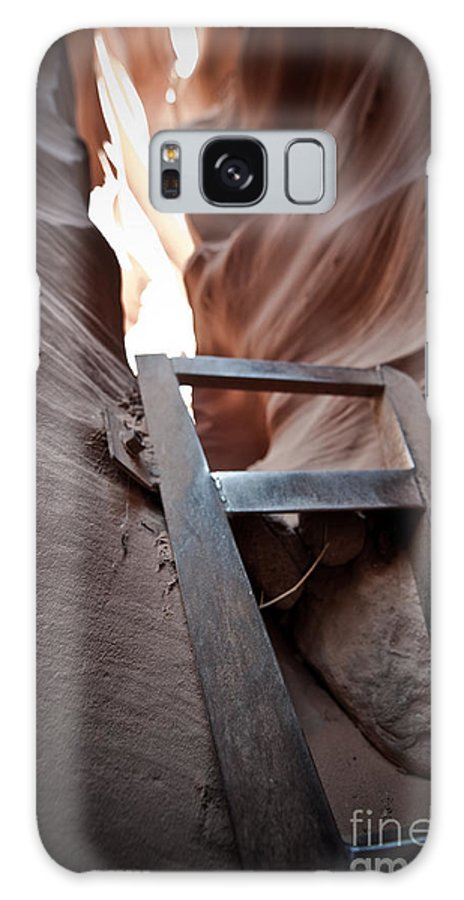 Slot Canyon Galaxy S8 Case featuring the photograph Steps In A Slot by Scott Sawyer