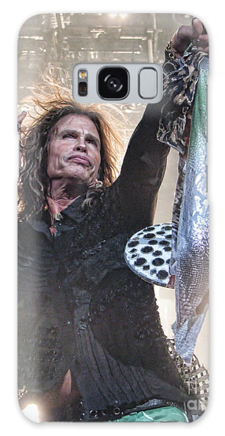 Steven Tyler Galaxy S8 Case featuring the photograph Steven Gives by Traci Cottingham